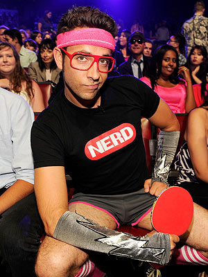 Zachary Levi Nerd MAchine