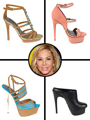 Adrienne Maloof for Charles Jourdan