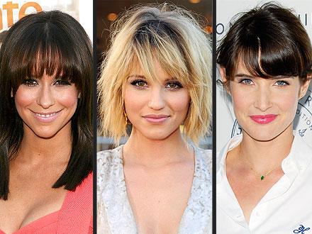 Jennifer Love Hewitt, Dianna Agron, Cobie Smulders Hair