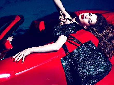 Anne Hathaway for TOD's