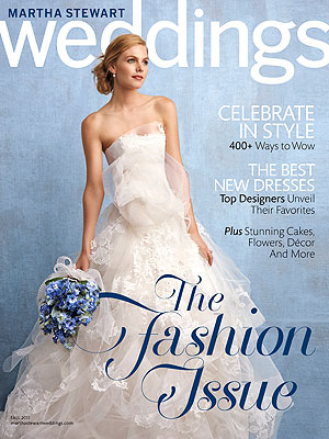 Martha Stewart Weddings Fall 2011