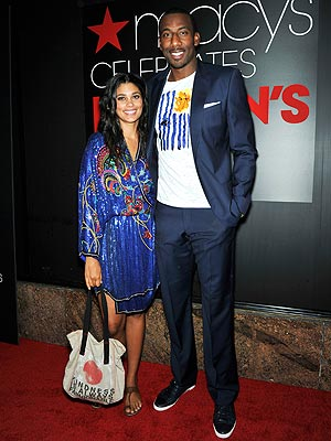 Rachel Roy, Amar'e Stoudemire Macys