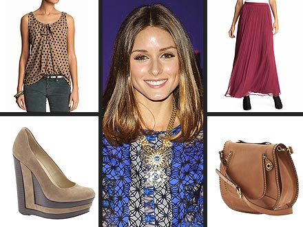 Olivia Palermo Guest Edits for Piperlime