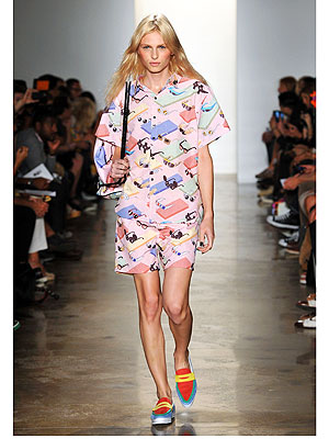 Andrej Pejic Fashion Week