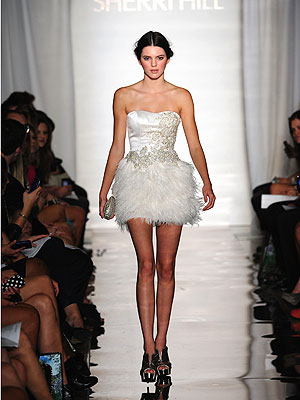 Kendall Jenner  on First Kylie Now Kendall The Elder Jenner Sister Made Her Runway Debut