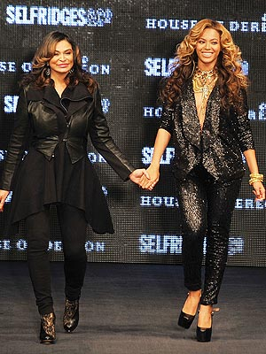 Beyonce at London Fashion Week