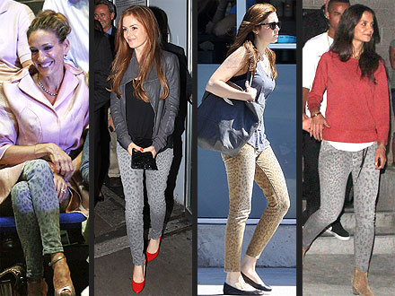 Katie Holmes, Julianne Moore, Emily Blunt jeans