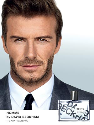 David Beckham Cologne Photo