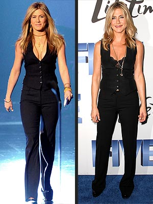 Jennifer Aniston Sexy Vest Style
