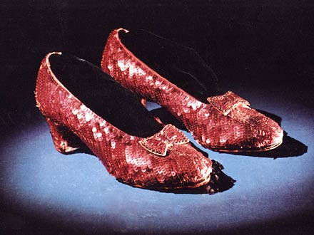 Wizard of Oz Ruby Slippers Auction