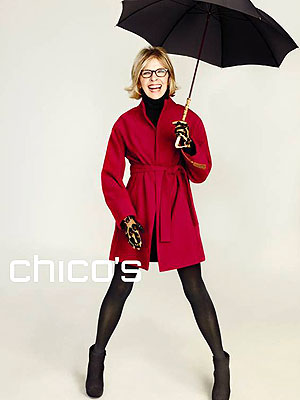 Diane Keaton for Chicos