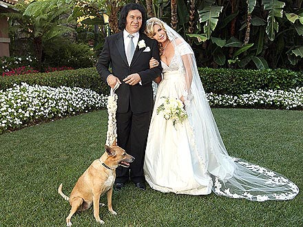 Gene Simmons Wedding Photo
