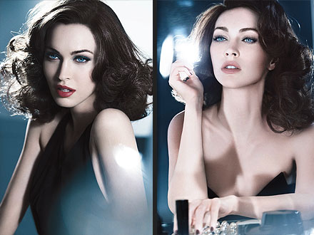 Megan Fox Armani Ads