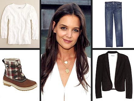 Katie Holmes Style from Holmes and Yang