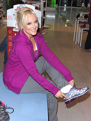 Lacey Schwimmer Lady Foot Locker