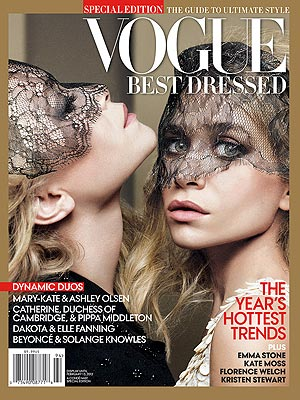 Mary-Kate and Ashley Vogue Cover
