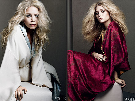 Ashley Olsen and Mary-Kate Olsen Vogue Cover