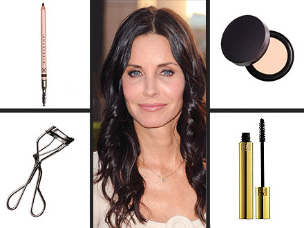 Courteney Cox Beauty Secrets