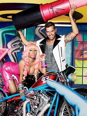 MAC Nicki Minaj and Ricky Martin