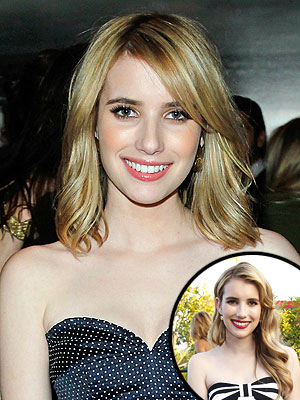 emma roberts 300x400 Emma Robertss New Haircut: Inspired by Jennifer Aniston?