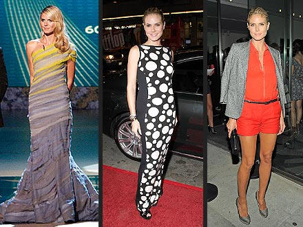 Heidi Klum Project Runway Dresses