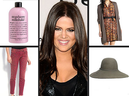 Khloe Kardashian Holiday Gifts