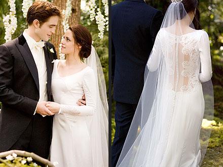 Breaking Dawn Wedding Gown