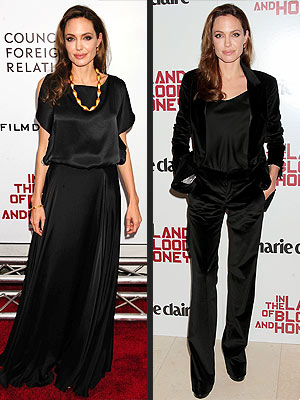 angelina jolie 300x400 Angelina Jolies Directorial Dress: Basic Black