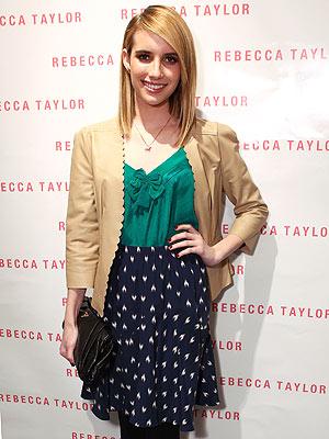 Emma Roberts Rebecca Taylor