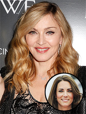 Madonna on Kate Middleton