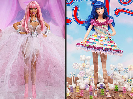 Barbie Katy Perry Nicki Minaj
