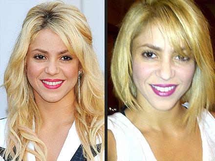 Shakira Haircut