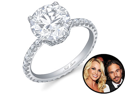 Britney Spears Engagement Ring