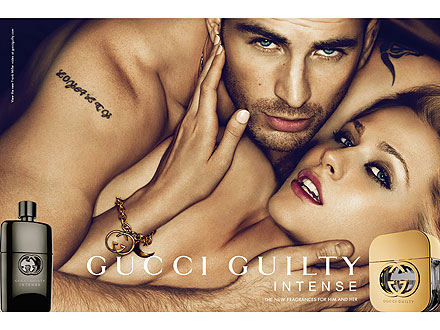Gucci Guilty Intense Ads