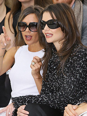 katie holmes 300x400 Victoria Beckham and Katie Holmes Coordinate Their Outfits for Events