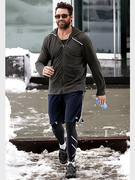 HUGH RUNS! photo | Hugh Jackman