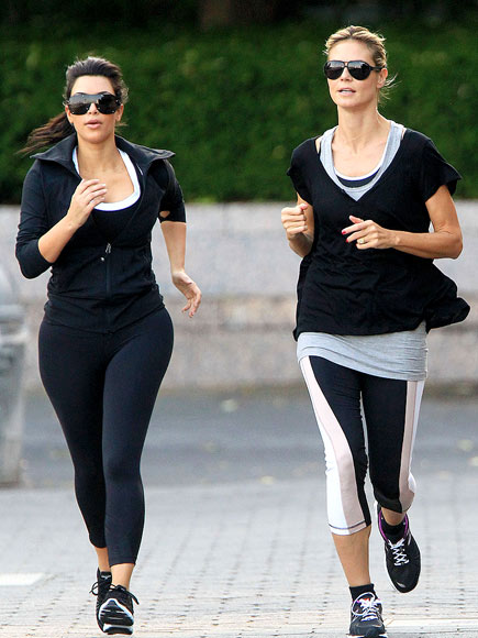 KIM KARDASHIAN photo | Heidi Klum, Kim Kardashian