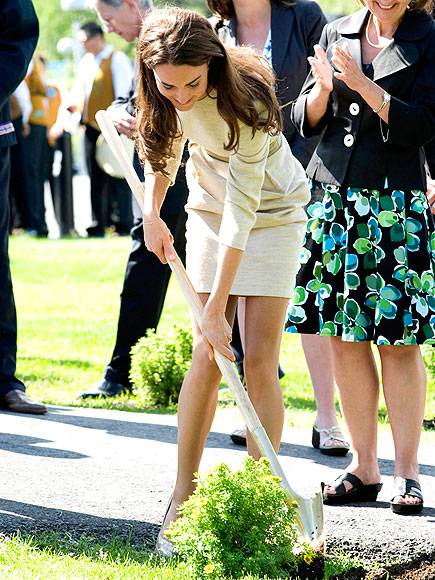 KATE MIDDLETON GOES GREEN photo | Kate Middleton