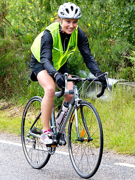 PEDAL TO THE METAL photo | Pippa Middleton