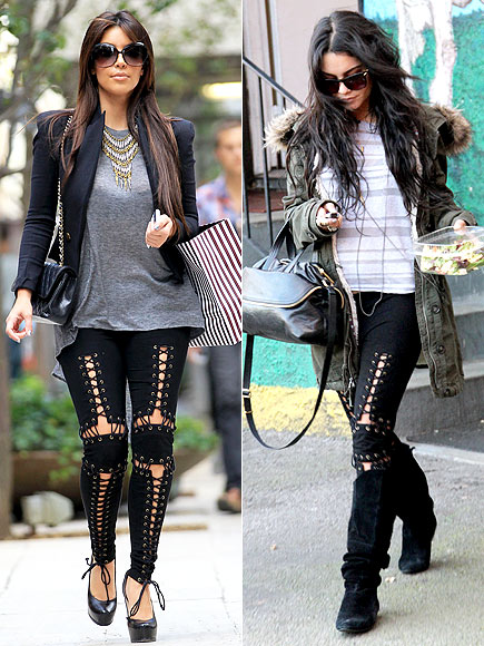 KIM VS. VANESSA photo | Kim Kardashian, Vanessa Hudgens