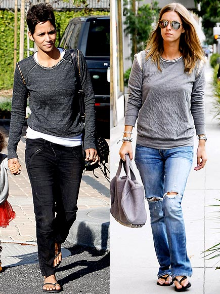 HALLE VS. NICKY photo | Halle Berry, Nicky Hilton
