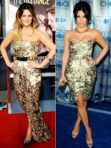 DREW VS. KIM photo | Drew Barrymore, Kim Kardashian