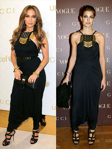 JENNIFER VS. CHARLOTTE photo | Charlotte Casiraghi, Jennifer Lopez