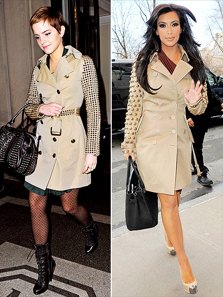 EMMA VS. KIM photo | Emma Watson, Kim Kardashian