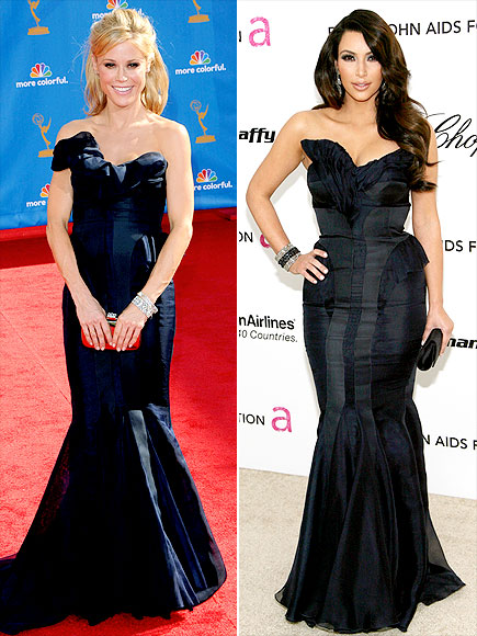 JULIE VS. KIM photo | Julie Bowen, Kim Kardashian
