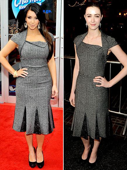 KIM VS. MADELINE photo | Kim Kardashian, Madeline Zima