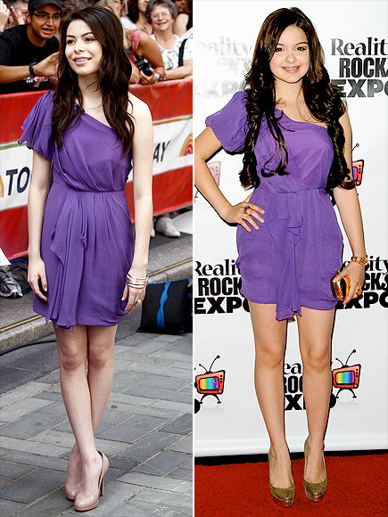 MIRANDA VS. ARIEL photo | Miranda Cosgrove