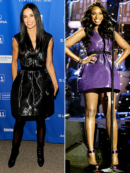 DEMI VS. JENNIFER photo | Demi Moore, Jennifer Hudson