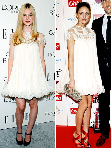 ELLE VS. OLIVIA photo | Elle Fanning, Olivia Palermo