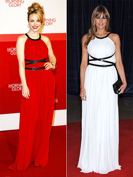 RACHEL VS. MELANIA photo | Melania Trump, Rachel McAdams